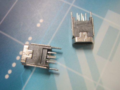 Mini 5P母180度直脚