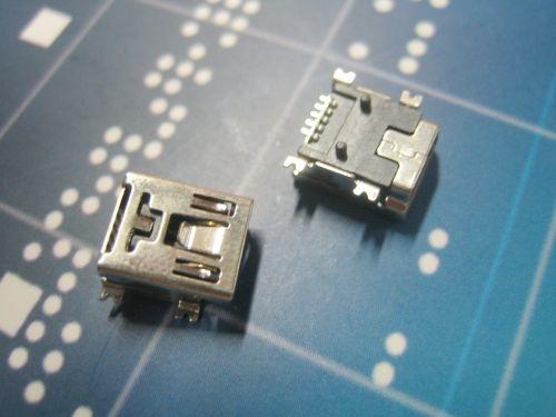 Mini 5P母SMT T型