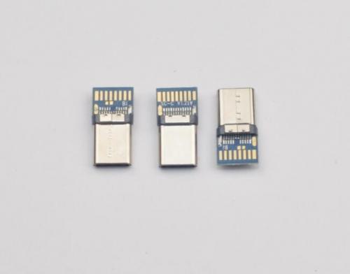 34--3.1公头铆合式C-C带PCB 电容10NF L=17.4