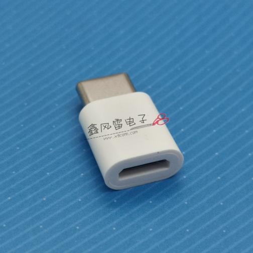 XFLQ002-UCTOMF01-X(USB 2.0 CM TO MICRO USB 2.0 BF 转接头 带方护套)