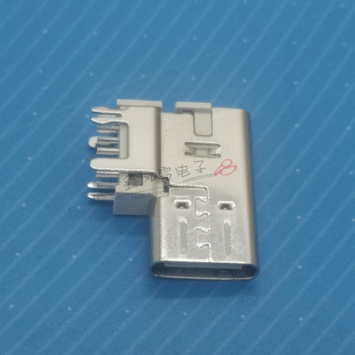 浙江TYPE C 14P母座侧插垫高款