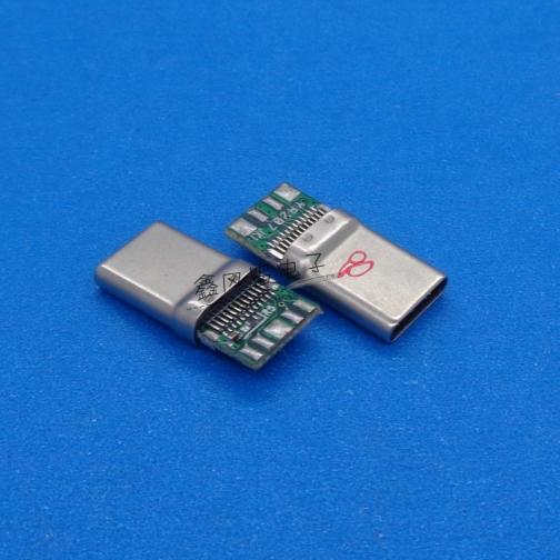 TYPE-C公头拉伸壳C-3数据板56K