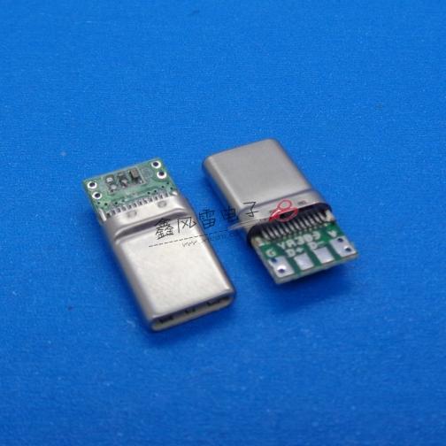 TYPE C公头拉伸壳第三代C-2数据板自动焊接