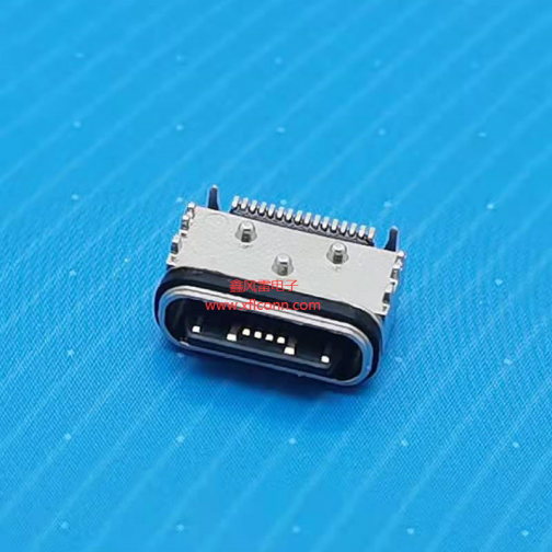 00206-UCAF006-X(TYPE C 16P板上型母座防水L=6.45)